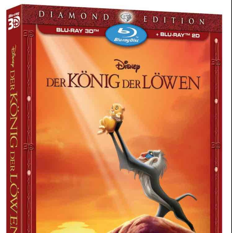 Der König Der Löwen Diamond Edition (3D + 2D) für 16,99 (Amazon Prime oder Saturn / Media Markt Selbstabholung)