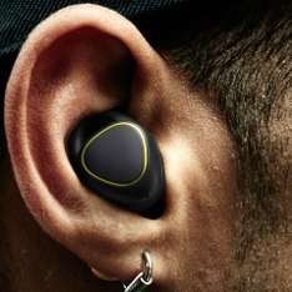 Samsung Gear IconX In-Ear Kopfhörer kabellos mit integriertem Fitnesstracker