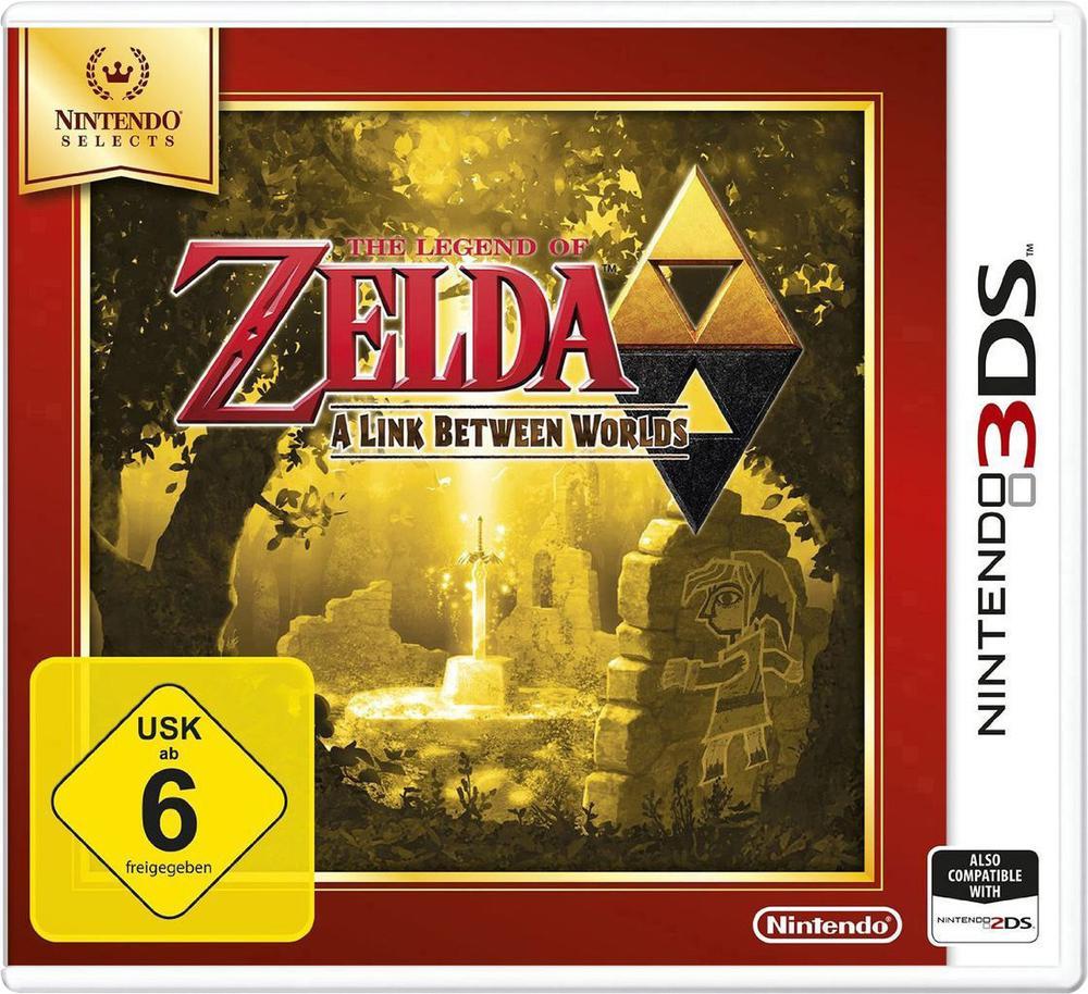 The Legend of Zelda: A Link between Worlds (3DS) für 11,76€ [Conrad + Amazon]