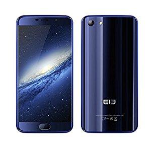 ELE Elephone S7 4G LTE Smartphone -  Kern 2.0GHz, 4GB RAM, 64GB ROM, Randloses FHD Schirm 13.0MP + 5.0MP Kameras Fingerabdruck - (Blau) | Nur 208€