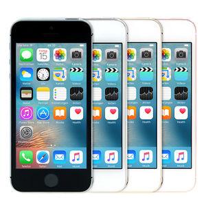 [ebay] Apple iPhone SE 64GB verschiedene Farben, ohne SIM-Lock, wie Neu für 369,50€