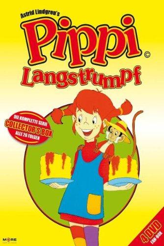 Pippi Langstrumpf - Die komplette Serie (Folge 1-26) 4 DVD's für 11,97€ mit [Amazon Prime]