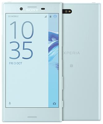 Sony Xperia X Compact im Blau Allnet XL (Allnet SMS 4GB LTE) für 19,99 € / Monat + 99 € Zuzahlung