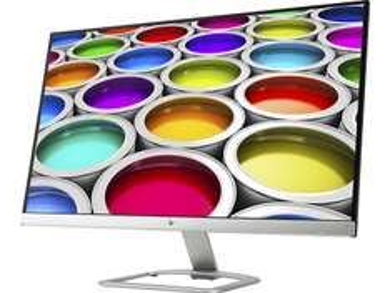 [nbb] HP 27ea (27 Zoll, LED, IPS-Panel, 1.920x1.080@60Hz, 7ms, 2x HDMI, entspiegelt, A+, Lautsprecher) in silber-weiß für 199€ statt 234€