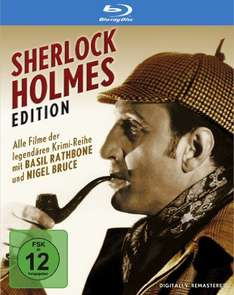 Sherlock Holmes Edition [Blu-ray] [Special Collector's Edition] für 24,97€ (Amazon)