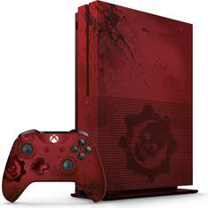 "Microsoft Xbox One S 2TB Limited Edition ""Gears of War 4"" (inkl. Crimson Omen Controller und Gears of War 4 Ultimate) + 3 Monate Xbox Live Gold für 361,37€ [Amazon.fr]"