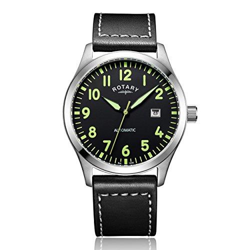 Rotary Herren-Armbanduhr Analog Automatik