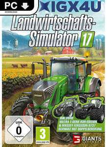 Landwirtschafts Simulator 2017 PC download PVG: 26,90 EURO