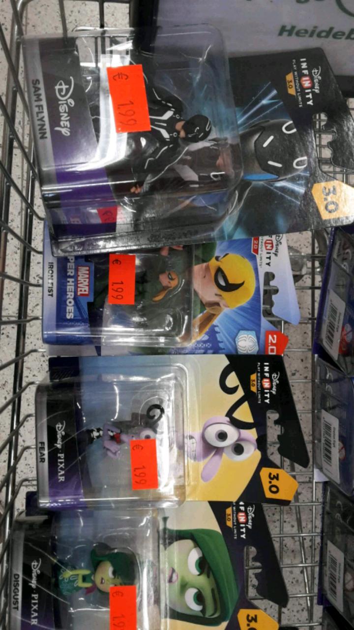 Disney Infinty Figuren im Real Wernigerode ab 1.99 Euro