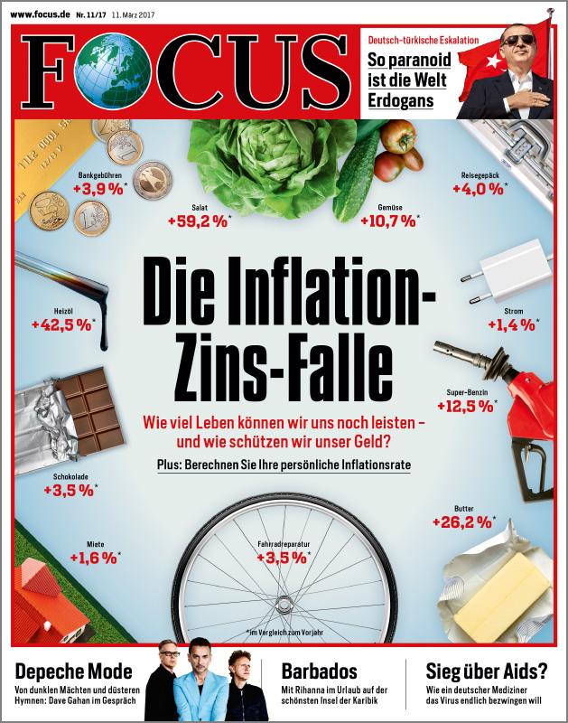 Zeitschrift FOCUS im Jahresabo für nur 19,95 €