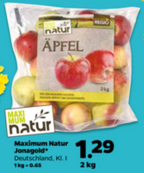 [Netto mit Hund ab Do 16.3.17] 2 Kilo Äpfel Jonagold aus Deutschland