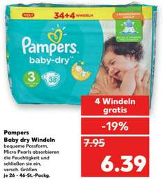 [Kaufland] Pampers Baby Dry Windeln