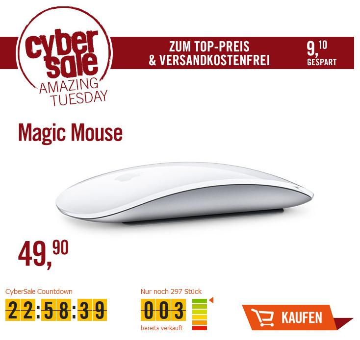 (Cyberport.de)  CyberSale Apple Magic Mouse (MB829Z/A)