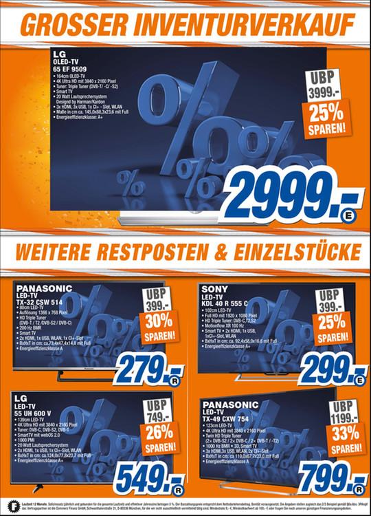 LOKAL Expert Langenhagen: Panasonic TX-49CXW754