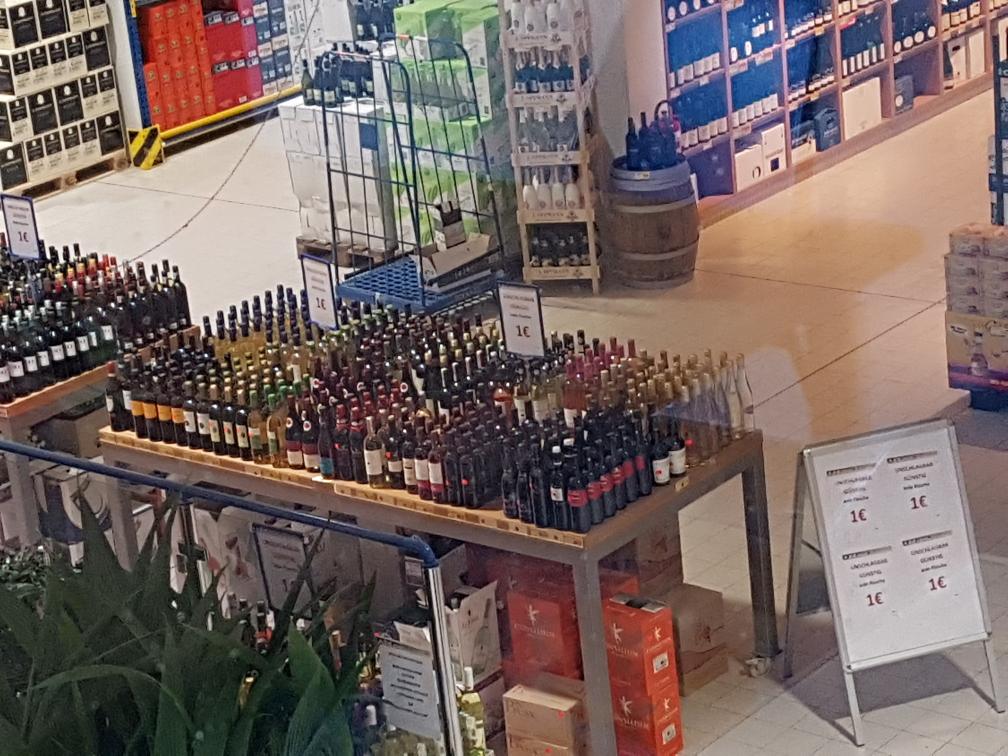 Edeka C+C Dettelbach viel Wein für 1€