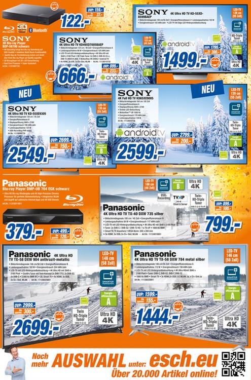 LOKAL Expert Esch in Heidelberg: Sony KD65XE9005 Premium-Glotze