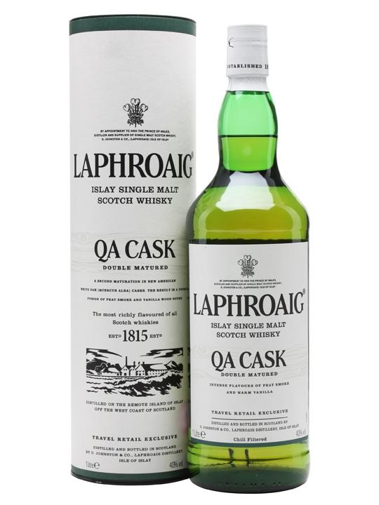 Whisky - Laphroaig QA Cask 1 Liter - 34,99€ (Grenzgänger CZ Travel-Free-Shop)