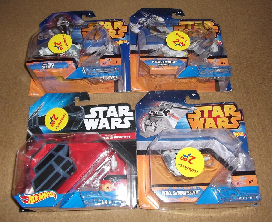 [Real Bielefeld] Star Wars Hot Wheels Modelle für je 2€ - eventuell bundesweit