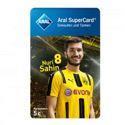 BVB Fanbshop ARAL Superkarten 35% Rabatt