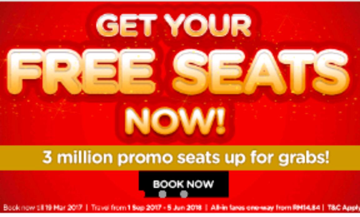Air Asia Flüge z.B. Thailand, Indonesien, Malaysia ab ca. 3€