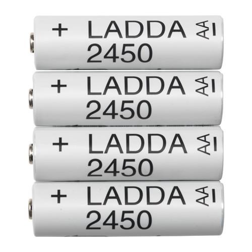 [Lokal]  Schweiz IKEA LADDA AA 2450mAh - 12 Stück 10.79 CHF