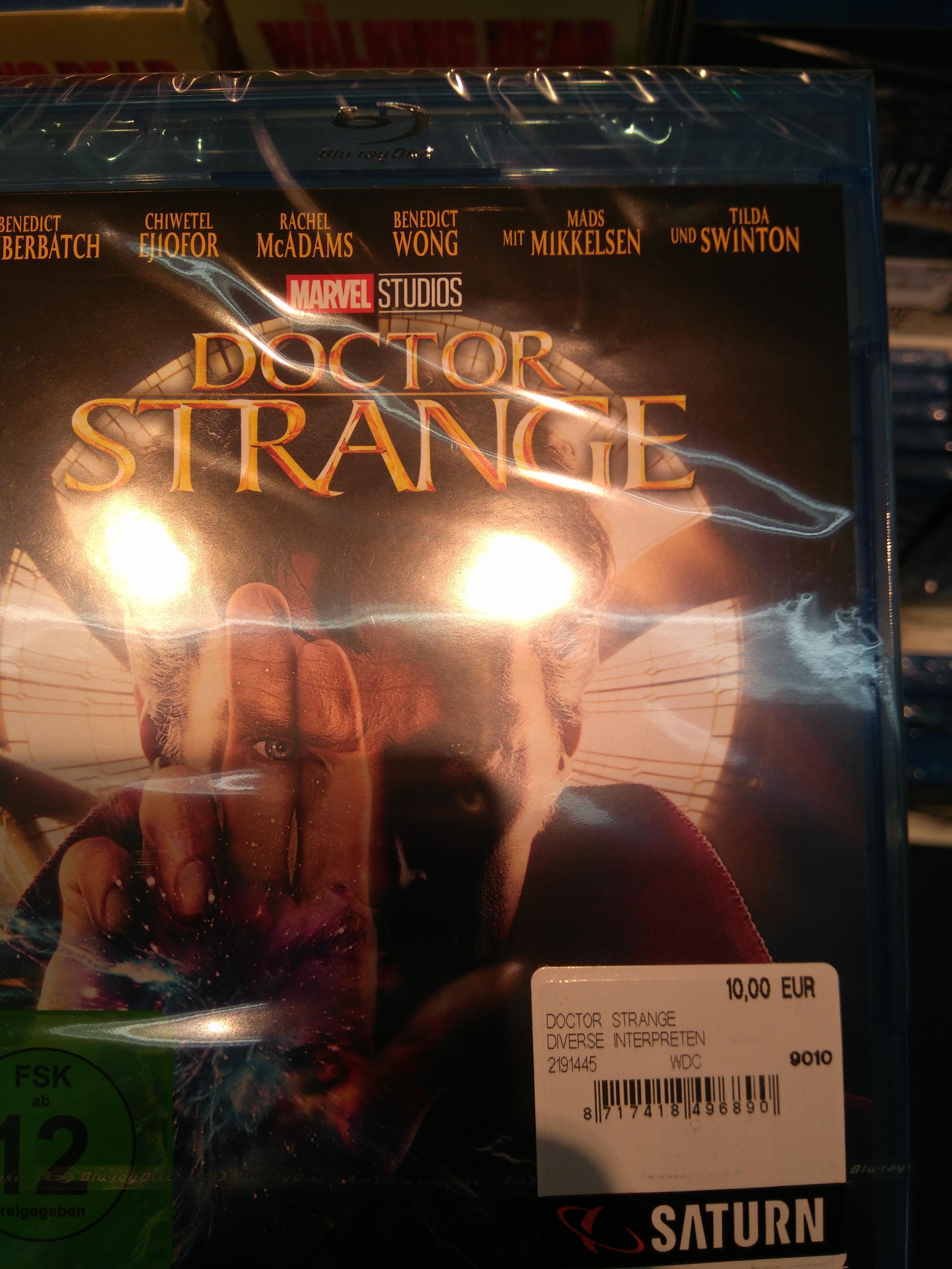 [Saturn Lokal HH] Dr Strange BluRay für 10€
