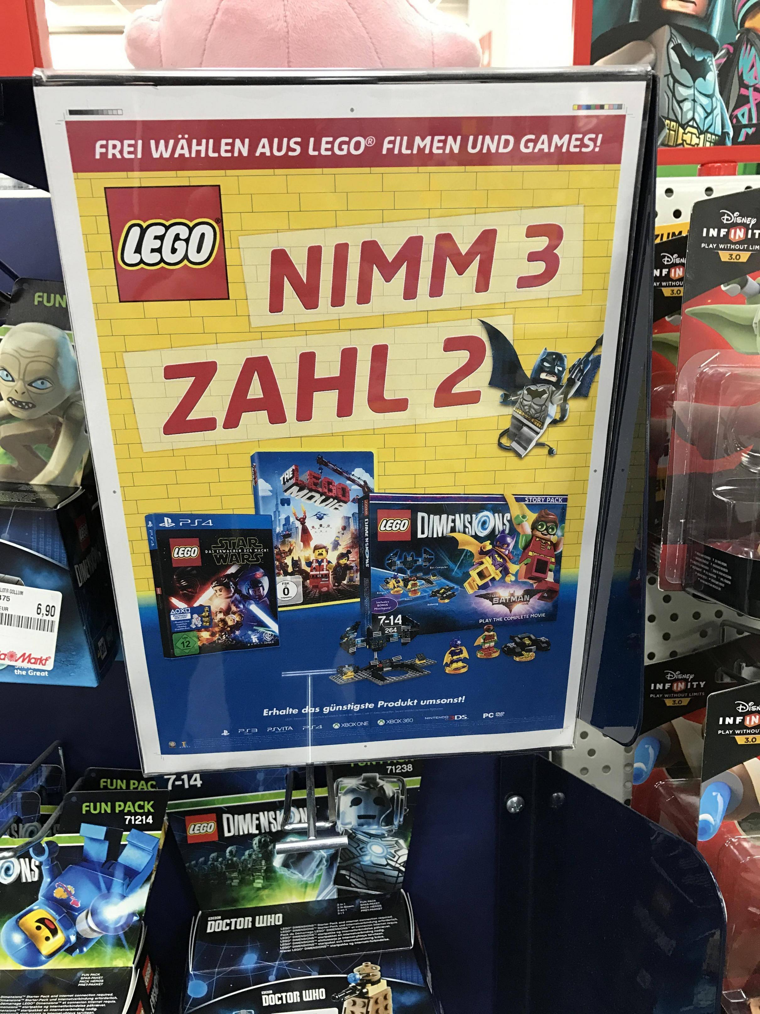 [Lokal] Media Markt Aschaffenburg Lego Dimensions