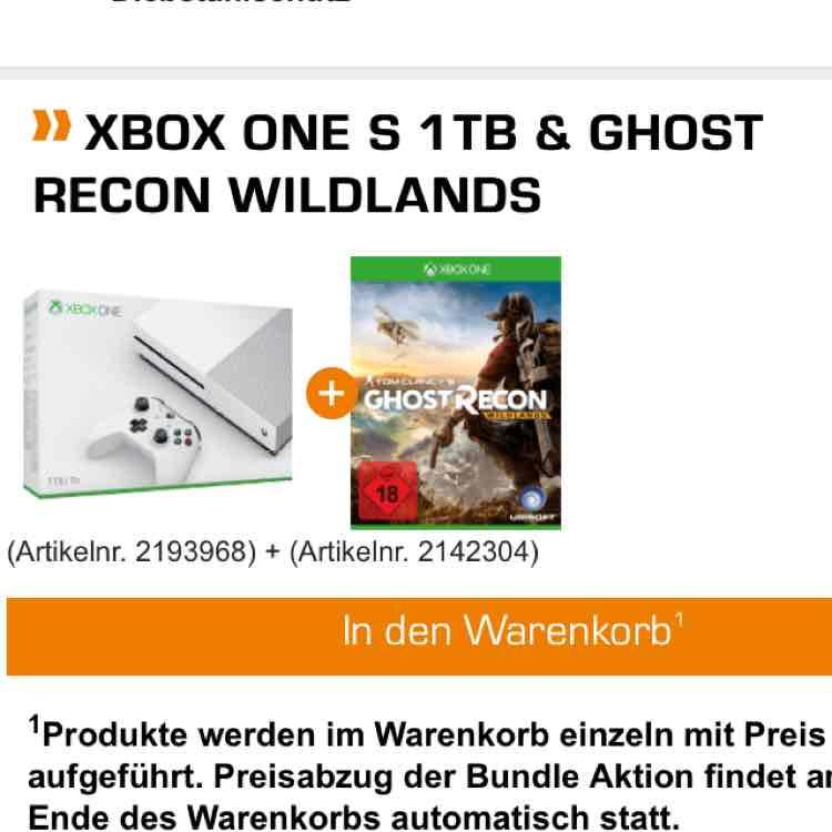 xBox One. S 1TB + Ghost Recon für 279€