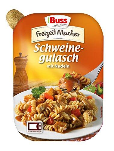 Buss Schweine-Gulasch mit Nudeln, 12er Pack (12 x 300 g) für 7,28€ inkl. Versand (Amazon.de Prime)