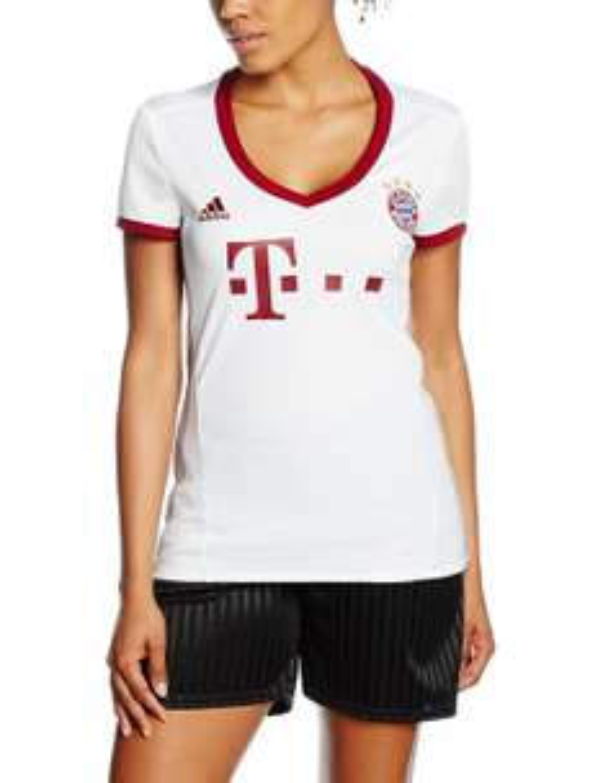 adidas Damen Fc Bayern Ucl Trikot 2017 Gr. L für 15,81€ inkl. Versand (Amazon.de Prime)