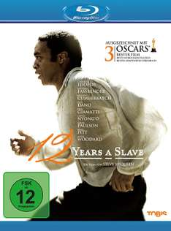 [Amazon] 12 Years A Slave [Blu-ray] neuwertig