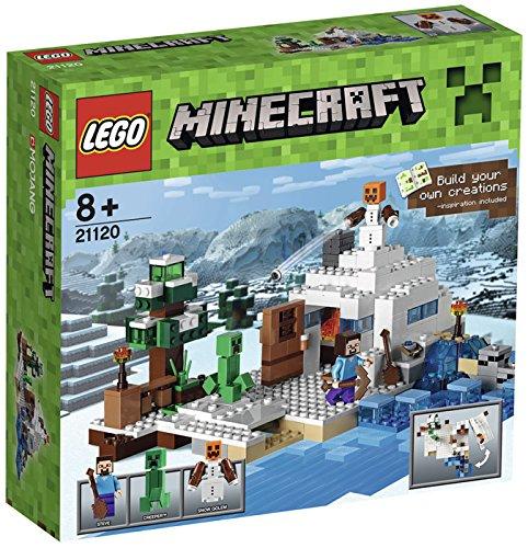 [amazon.es] LEGO Minecraft 21120 - Das Versteck im Schnee