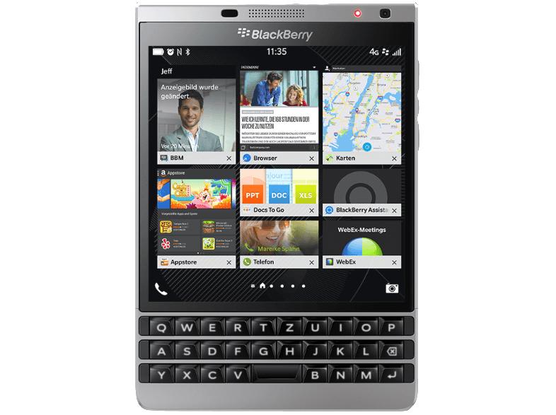 [MediaMarkt.de] Blackberry Passport Silver Edition 32 GB Schwarz/Silber, 280,99€ inkl. Versand
