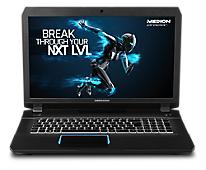 Medion Erazer X7842 mit i7-6700HQ, GTX 970M, 128GB SSD, 500GB HDD, 17,3 Zoll Full-HD IPS, Windows 10 für 969€ bei Medion
