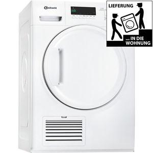 Bauknecht TK Plus 8BBW Frontlader Luftkondenstrockner mit 8kg für 299€ inkl. Lieferung auf ebay