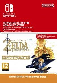 The Legend of Zelda Breath of the Wild Expansion Pass für 18,33 Euro