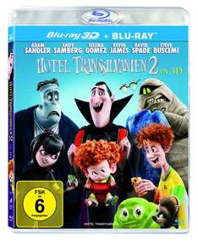 [jpc.de] Hotel Transsilvanien 2 (3D & 2D Blu-ray) 9,99 € inkl.Versand