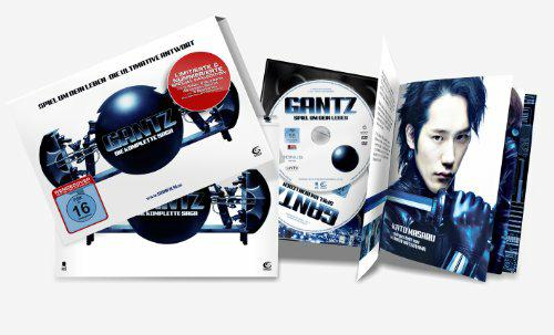 Gantz- Die komplette Saga: Spiel um dein Leben + Die ultimative Antwort (stylisches Mediabook mit 3 DVDs, 2 BDs, Hochglanzpostkarten und 48-seitigem Booklet) für 9,97€ [amazon.de]