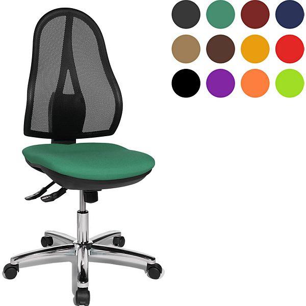 Topstar Bürodrehstuhl Open Point SY, Gestell verchromt, verschiedene Farben ab 44,90€ inkl. Versand (mit NL-Gutscheins sogar nur 39,90€ inkl. Versand)
