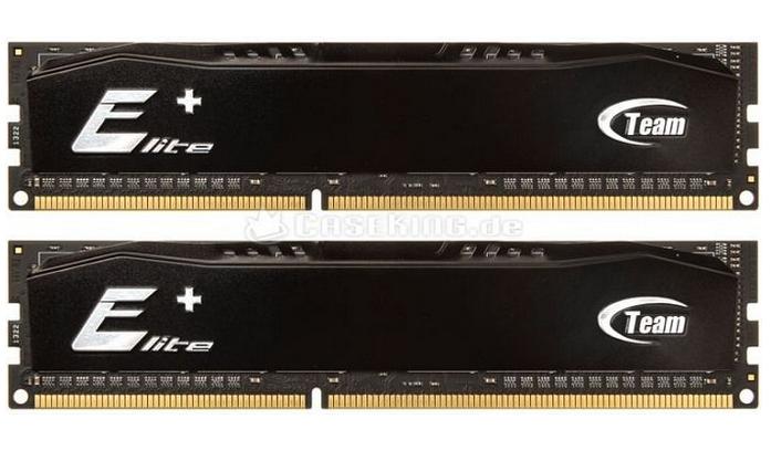 TeamGroup Elite Plus 8GB Kit DDR3-1600 für 27,62€ (Amazon Prime)