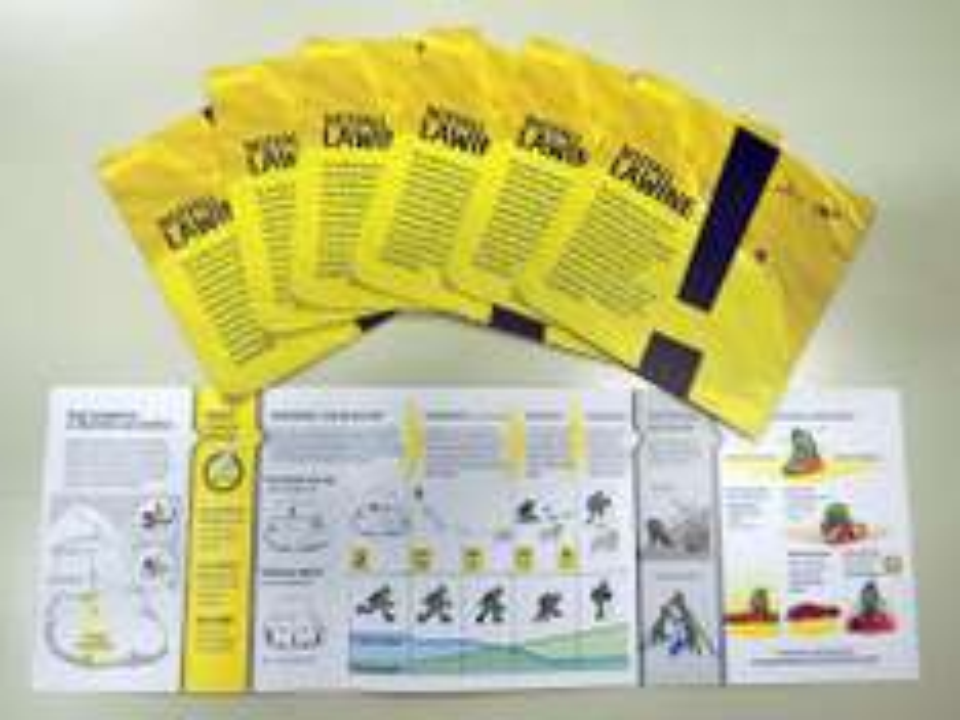 "Notfallkarte ""Lawine"" - Download & Versand"