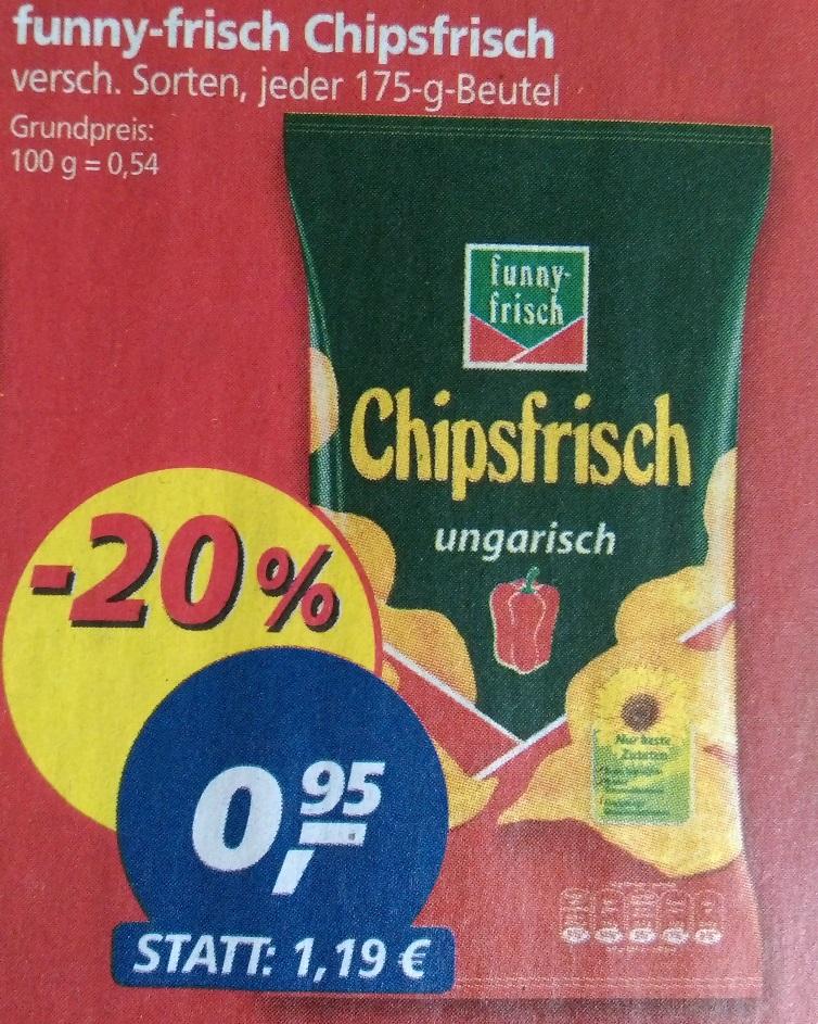 [real,-] 175g Funny Frisch Chipsfrisch verschiedene Sorten