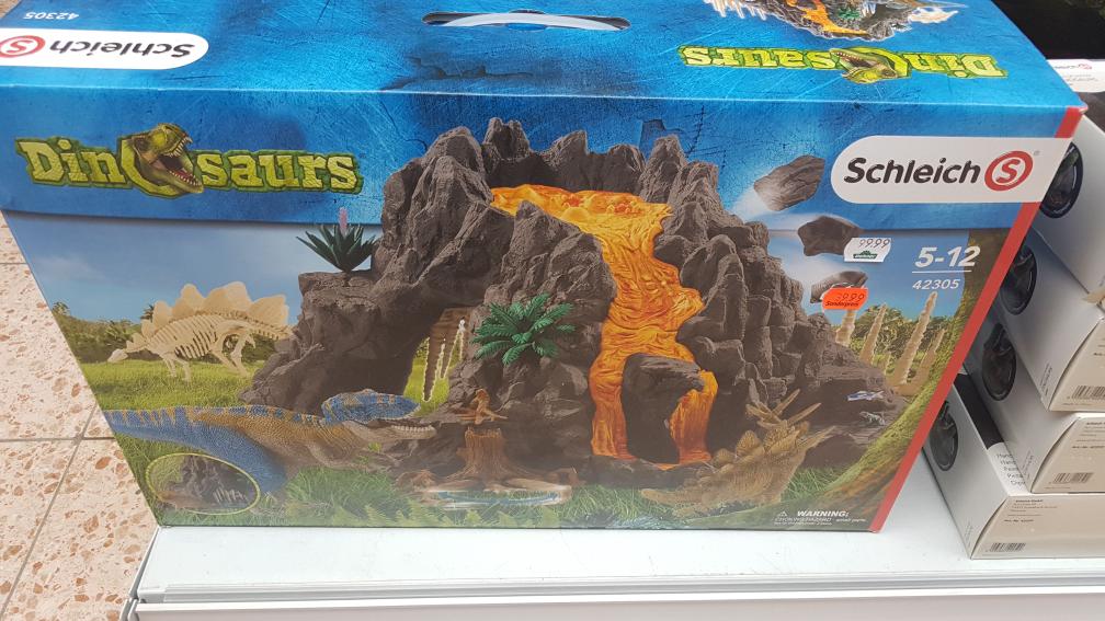 Schleich Riesenvulkan mit T-Rex (42305)