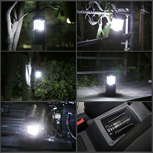 Sammeldeal 8 Werbeaktionen bei Amazon Camping Lampe 1x 2,99€ 2x 4,99€ mit 4400mAh Powerbank 8,99€ / Fahrradpumpe 5,99€ / Dry Bag 15L 5,99€ / Schrittzähler 3D 6,99€ / UV Taschenlampe 4,99€