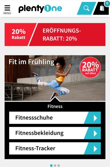 20% Rabatt auf alles (auch Sale) bei plentyone.de (Ein Onlineshop der Otto GmbH & Co KG)