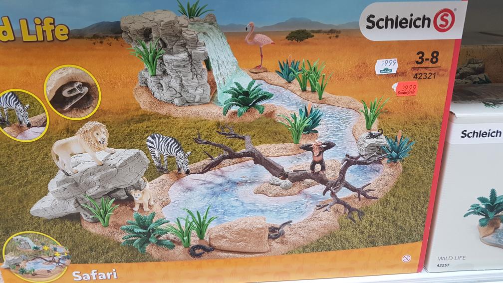 Schleich Große Abenteuer Wasserstelle ( 42321)