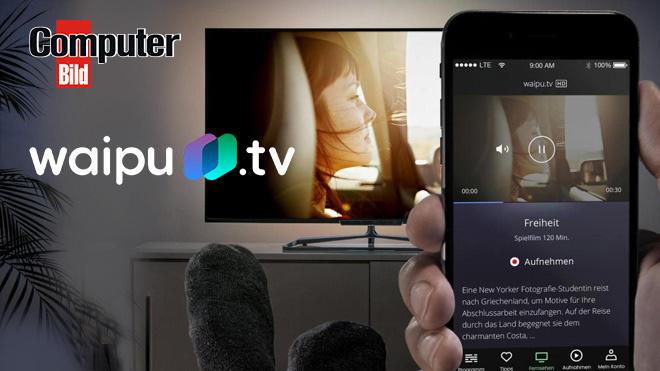 Waipu.tv 3Monate Comfort Paket Kostenlos  IPTV