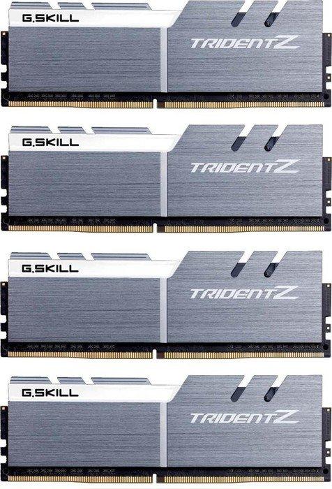 [Amazon.de Vorbestellung] G.Skill Trident Z silber/weiß DIMM Kit 32GB, DDR4-3200, CL16-18-18-38, Passend für Ryzen