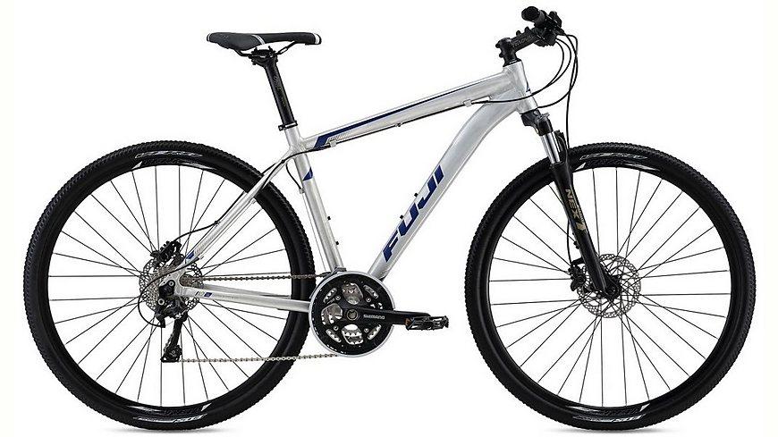 Fuji Herren Crossbike, 28 Zoll, 30 Gang Shimano Kettenschaltung, »Traverse 1.1«