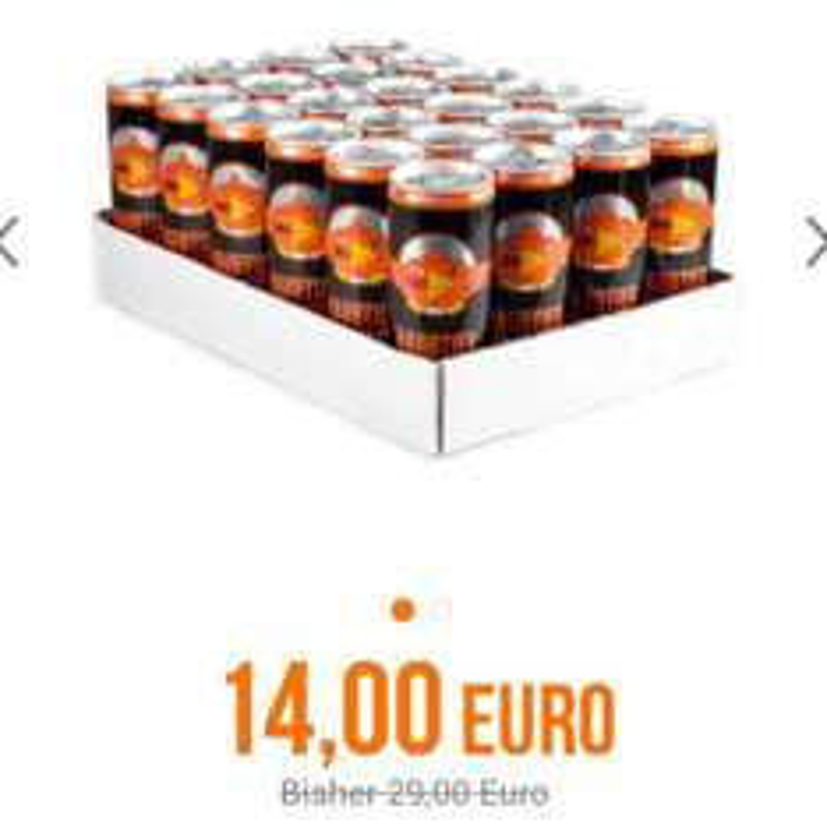 Energydrink Raubtierbrause 24 Dosen für 16.99€ statt 31.99€